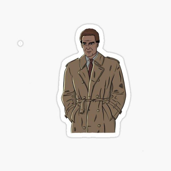 Ungelöste Rätsel - Robert Stack Aufkleber Sticker