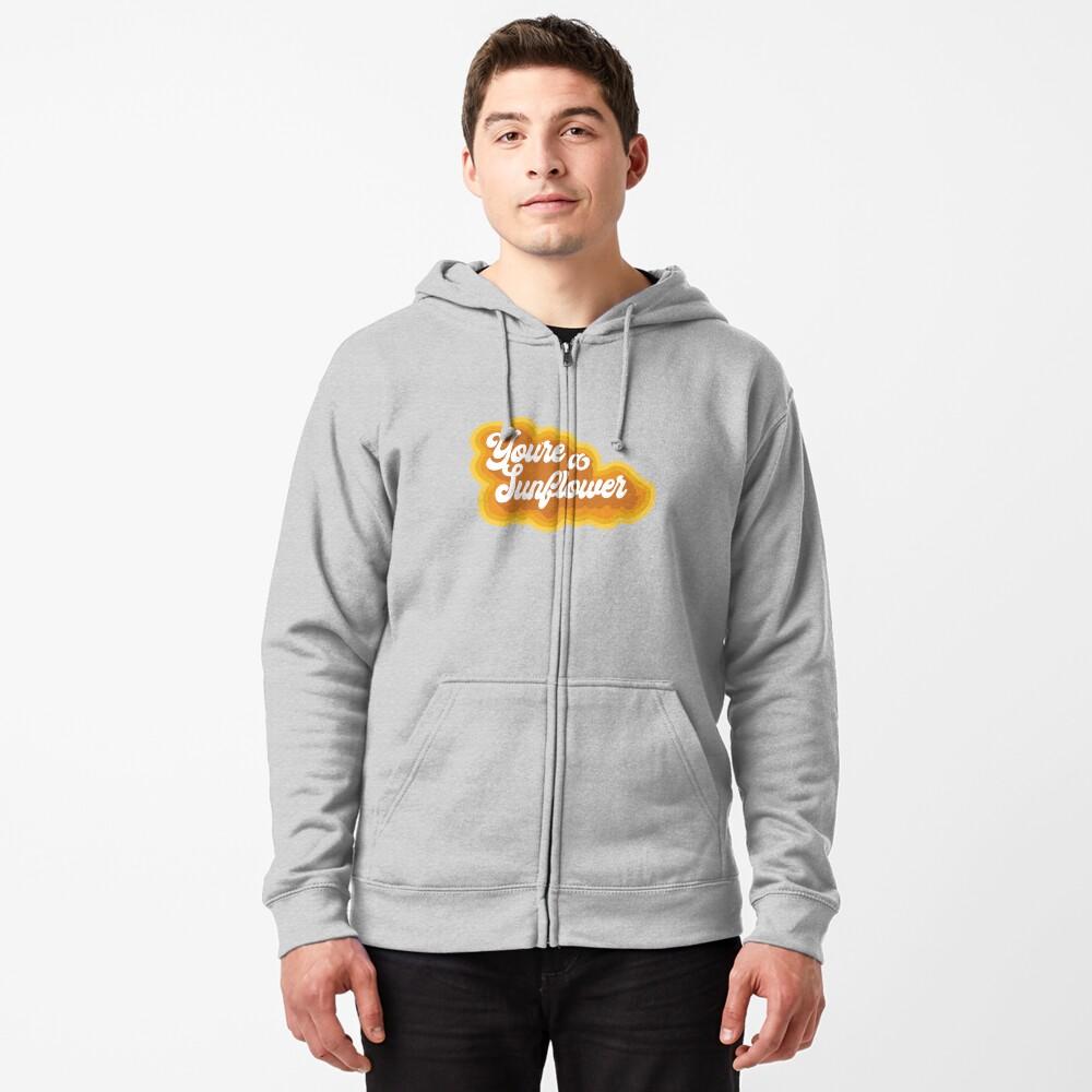 Sunflower Zipped Hoodie