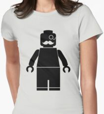 > lego minifigure Women's Fitted T-Shirt