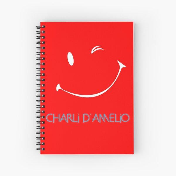 Charli Damelio Cahier à spirale