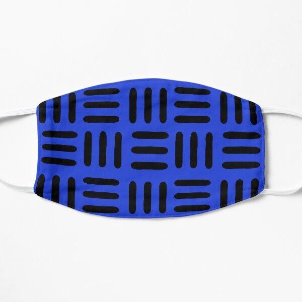 RECORDING STUDIO BLUE Flat Mask