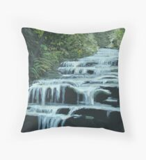 Leura Cascades, Blue Mountains Throw Pillow