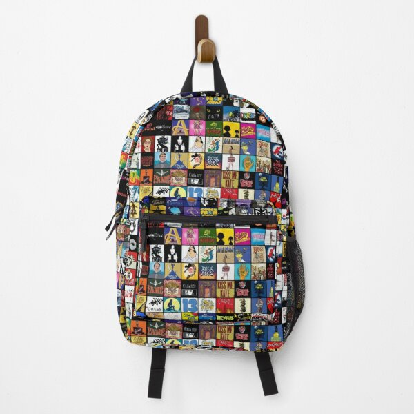 Broadway Musical Theatre Logos - Hand Drawn Backpack