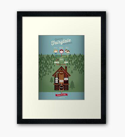 Common Fairytale Narratives Framed Print