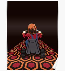 The Shining  Danny Torrance Go Kart Poster