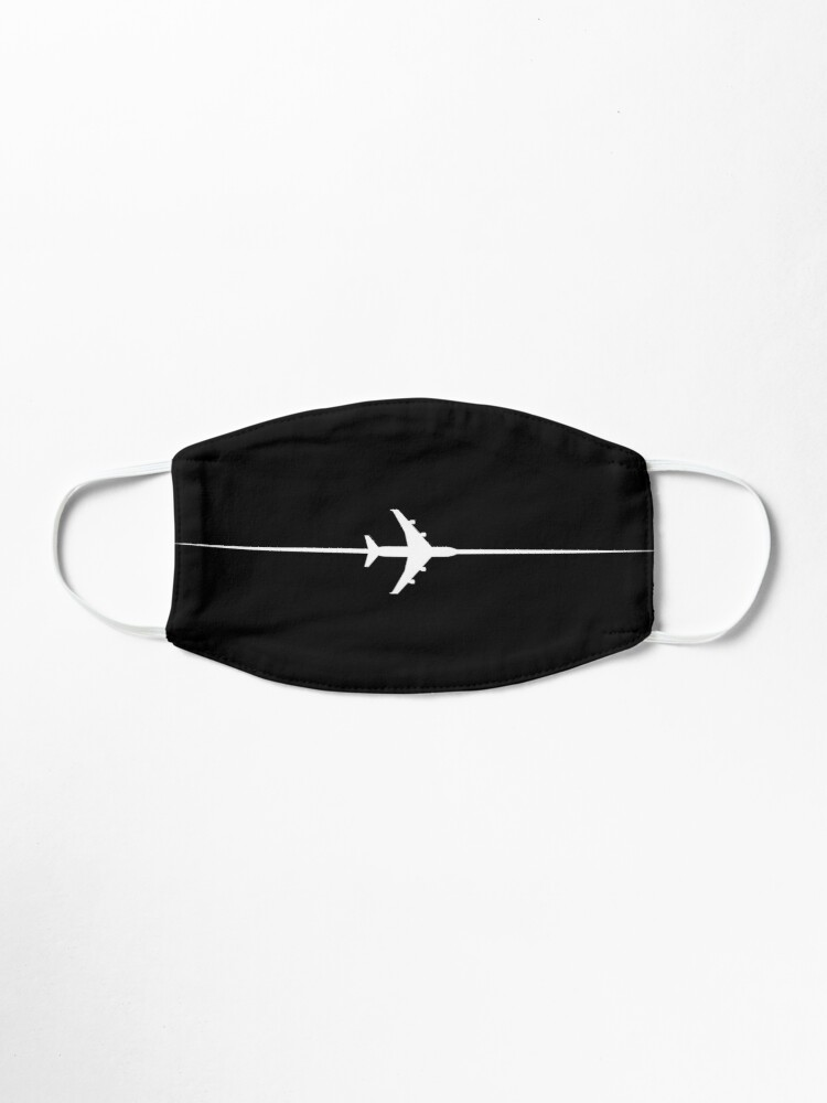 Alternate view of Line crossing the plane Mask