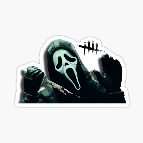 Visage de fantôme Sticker