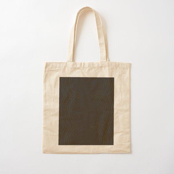 Black Cultural Circle Cotton Tote Bag