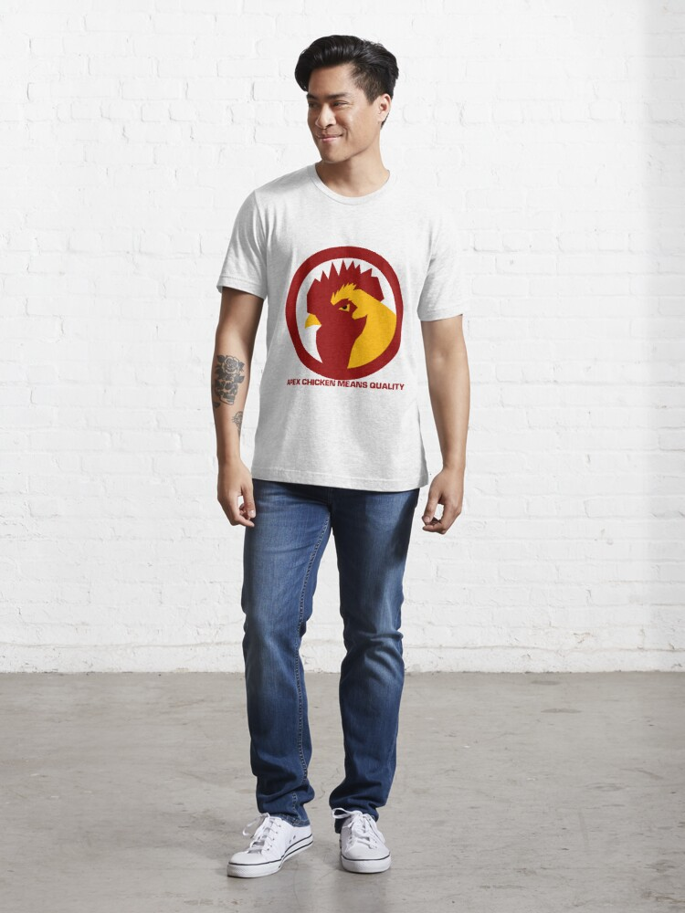 Alternate view of Apex Chicken Means Quality Essential T-Shirt