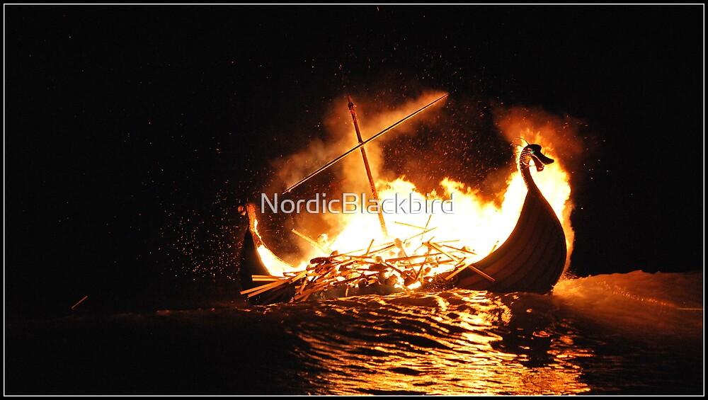 wave rocking dragon by NordicBlackbird