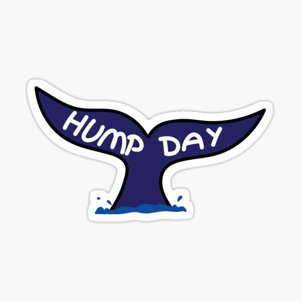 Hump day Whale Sticker