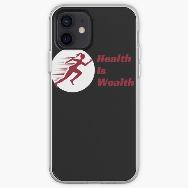 Health Is Wealth iPhone Soft Case