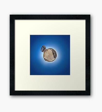 Little World of Murray-Sunset Gypsum Mine Hopper Framed Print