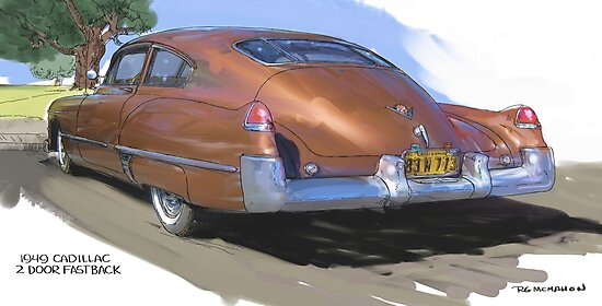 1949 Cadillac Fastback by RGMcMahon