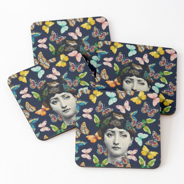 The Butterfly Queen Coasters (Set of 4)