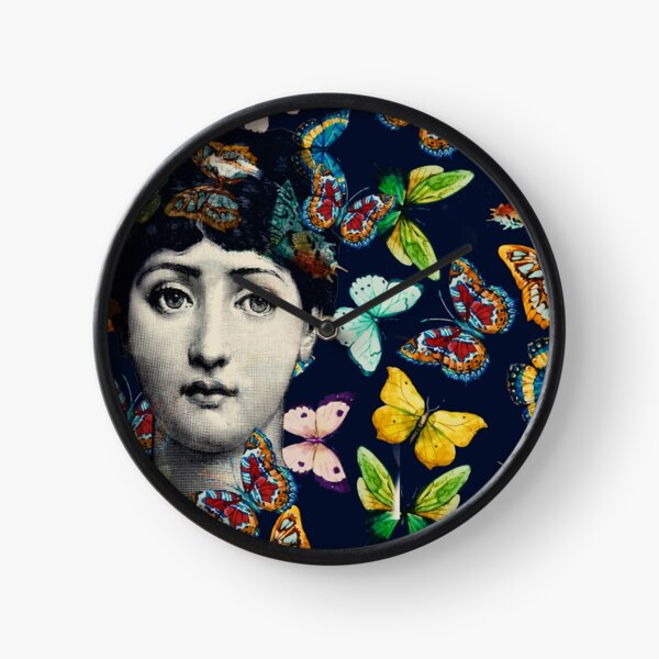 The Butterfly Queen Clock