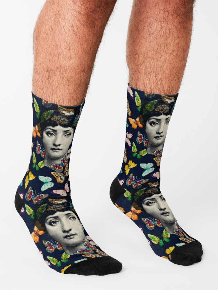Alternate view of The Butterfly Queen Socks