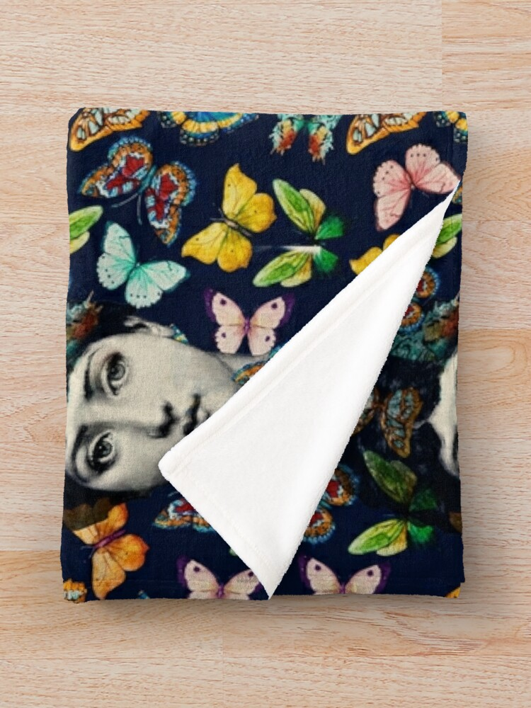 Alternate view of The Butterfly Queen Throw Blanket