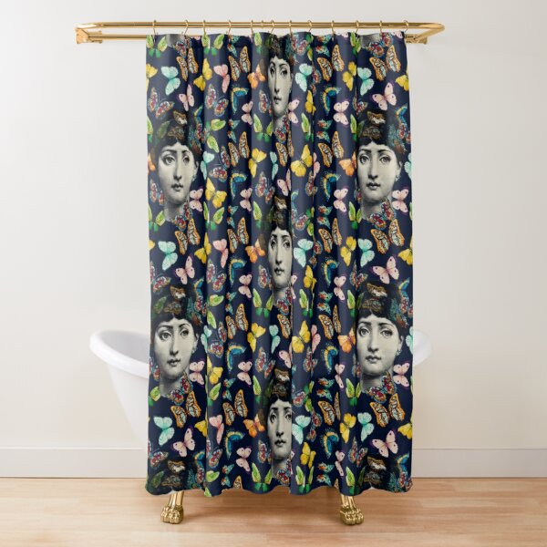The Butterfly Queen Shower Curtain