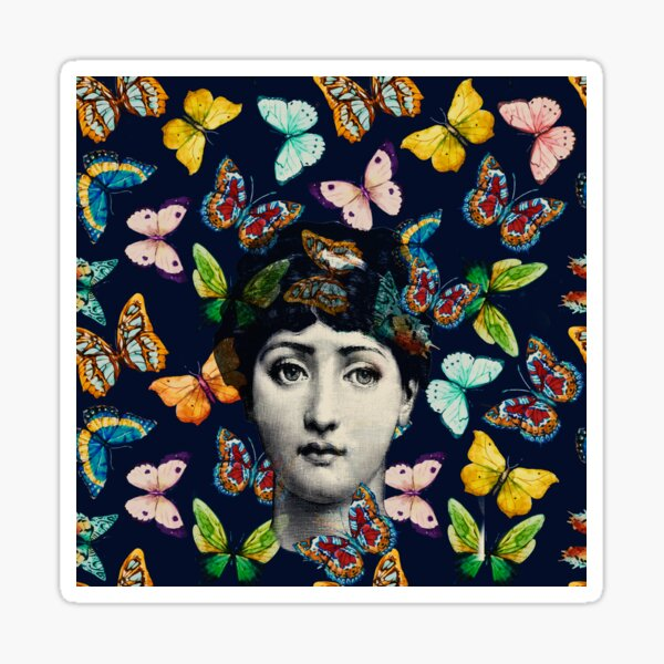 The Butterfly Queen Sticker