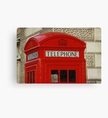 London Telephone Canvas Print