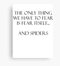 Spiders Canvas Print