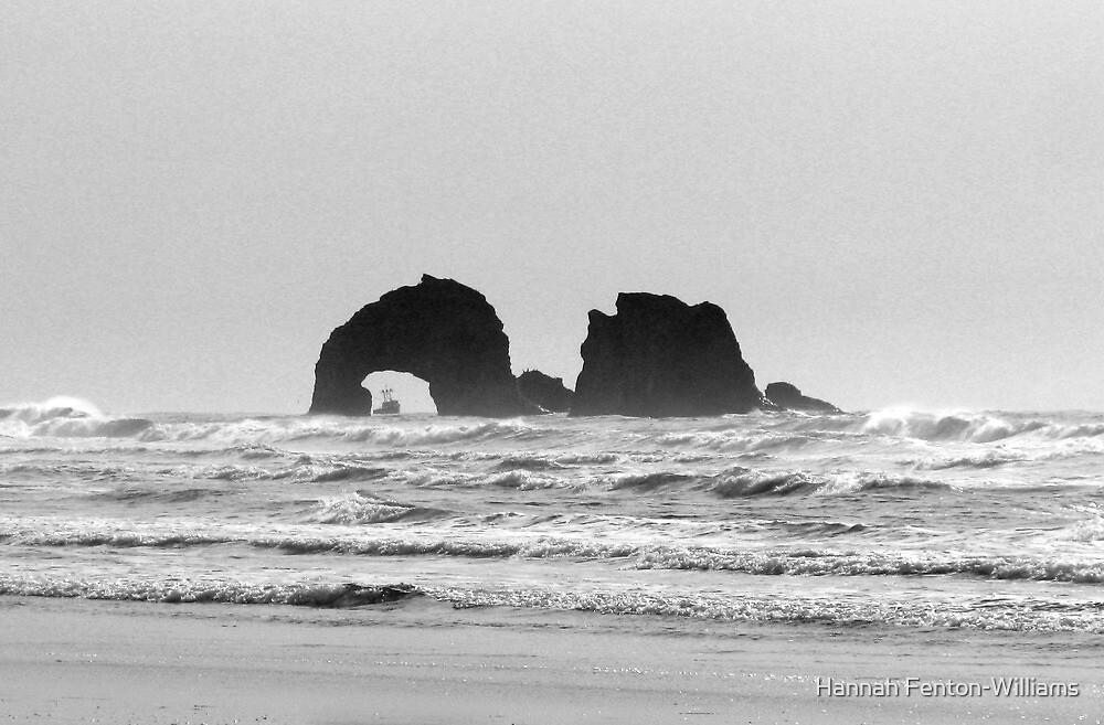 Twin rocks Oregon by Hannah Fenton williams