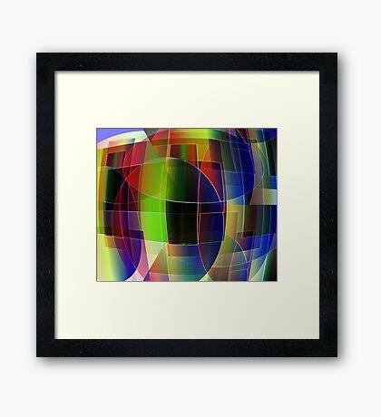 Exaggeration Framed Print