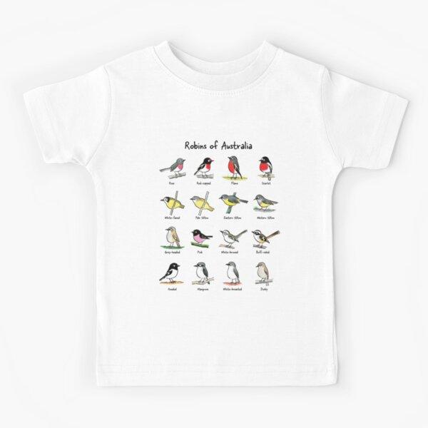 Robins of Australia - Raising funds for Birdlife Australia Kids T-Shirt