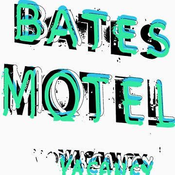 Bates Motel T-Shirt by PrinceRobbie