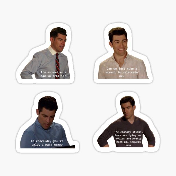 Schmidt Sticker Pack Sticker