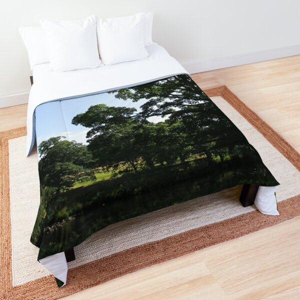 Merch #89 -- Stream Between Trees - Shot 1 (Hadrian's Wall) Comforter