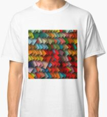 colorful rectangles with shadows Classic T-Shirt