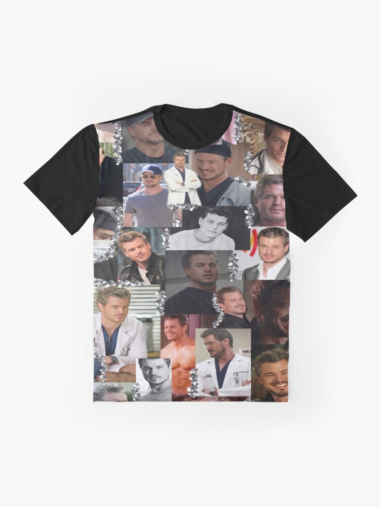 Alternate view of Mark Sloan Collage Graphic T-Shirt