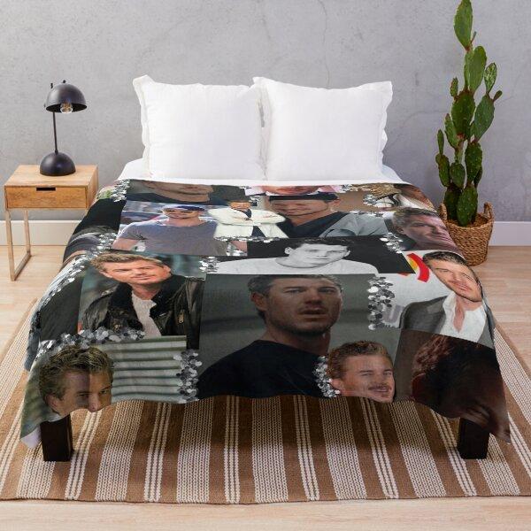 Mark Sloan Collage Throw Blanket