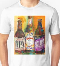 Lagunitas IPA, Harpoon IPA, West Coast IPA  Unisex T-Shirt