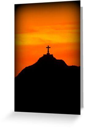 Mount Cristo Rey  by Kimberly Chadwick