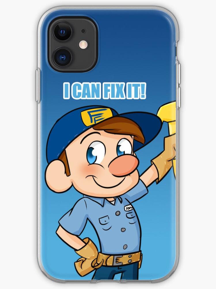 wreck it ralph Fix It Felix JR iphone case