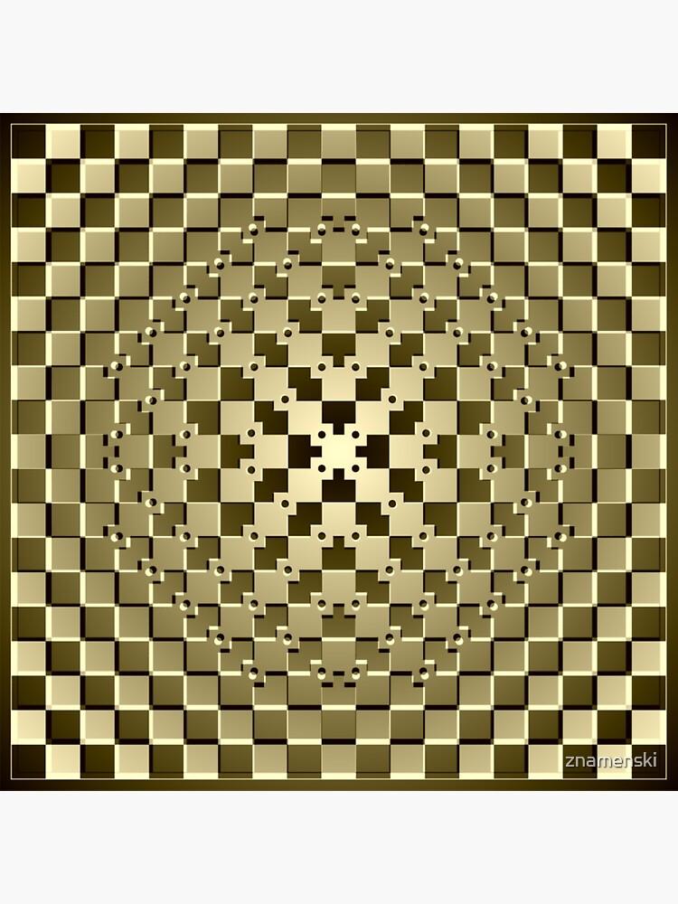 Optical iLLusion Abstract Art by znamenski