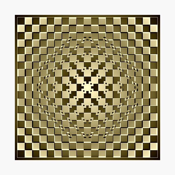 Optical iLLusion Abstract Art Photographic Print