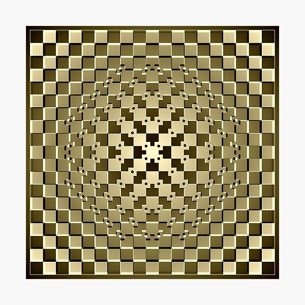 Optical iLLusion Abstract Art Photographic Print