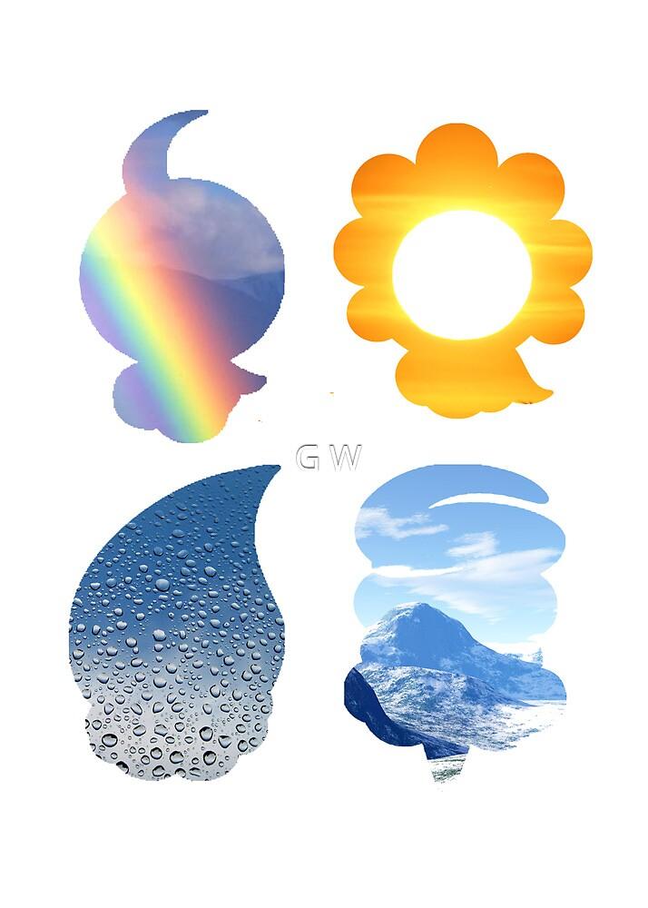 Castform used Weather Ball by G W