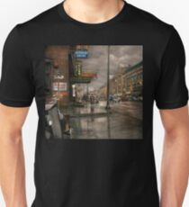 City - Amsterdam NY -  Call 666 for Taxi 1941 T-Shirt