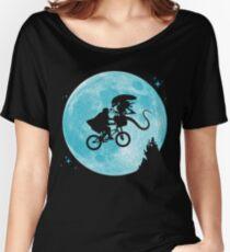 E.T. vs Aliens - transparent Women's Relaxed Fit T-Shirt