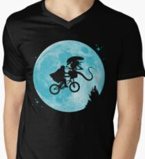 E.T. vs Aliens - transparent T-Shirt