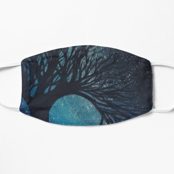 i dreamed of stars Flat Mask