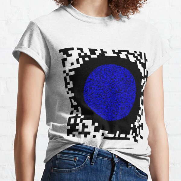 Optical illusion abstract art Classic T-Shirt