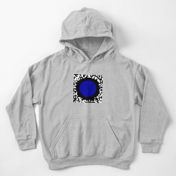 Optical illusion abstract art Kids Pullover Hoodie