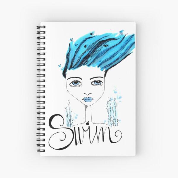 Swim  Spiral Notebook