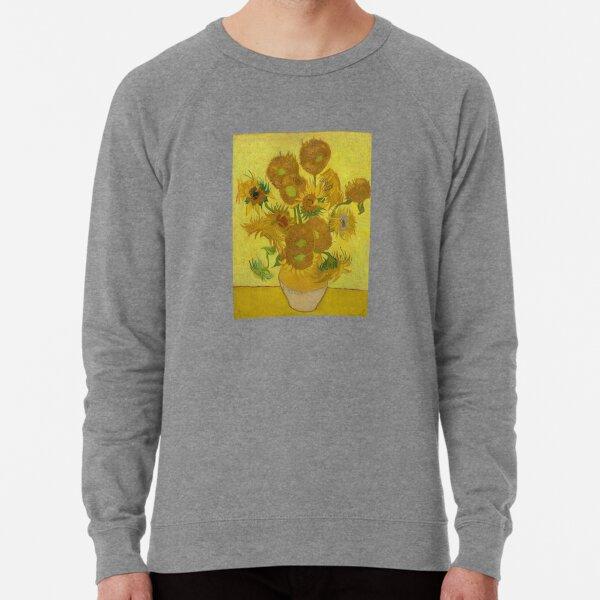 Sonnenblumen. Leichter Pullover